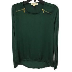 Michael Michael Kors Rayon Long Sleeve Shirt